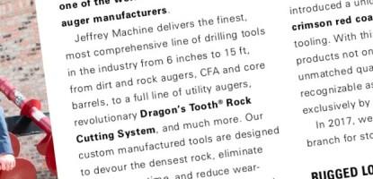 Jeffrey Machine MCS Corporate Profile