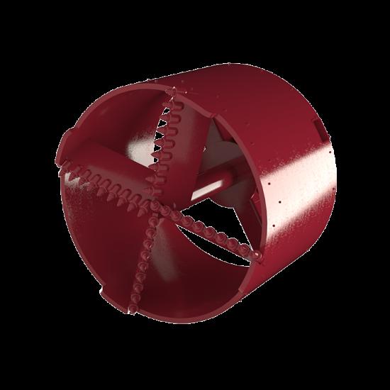 Cross Cut Core Barrel
