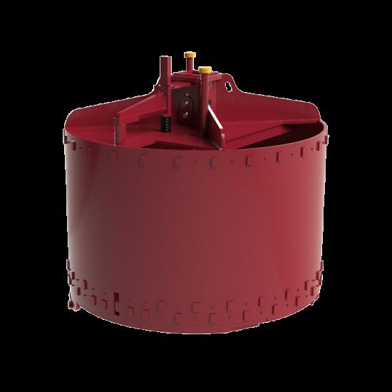 Double Open Dirt Drilling Bucket