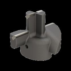 "5"" Carbide Tipped Drill Head"