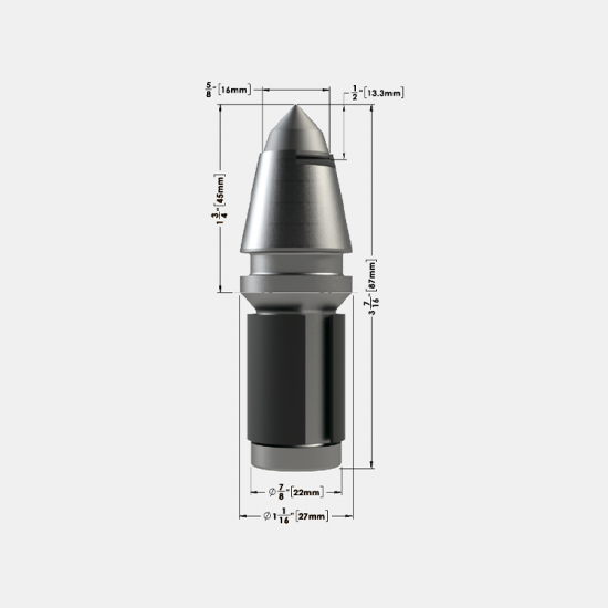 .875 Bullet Tooth