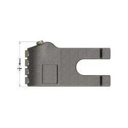 Carbide Gauge Tooth 1338
