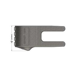 Carbide Gauge Tooth 1658