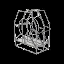 Duplex-Triplex Wire Basket